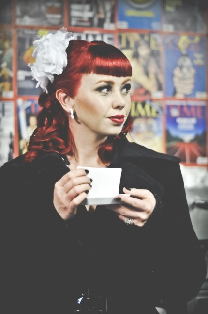 Red hair and Coffee