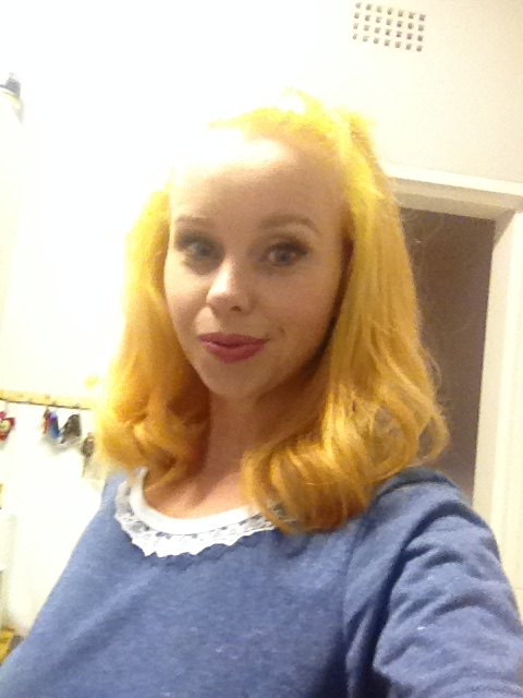 After - #yellowhairdocare