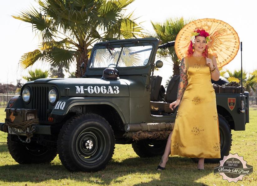 Mandy M Pinup - Oriental Jeep - Theunis Stofberg_1