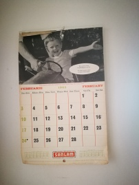 The last time the calendar was changed